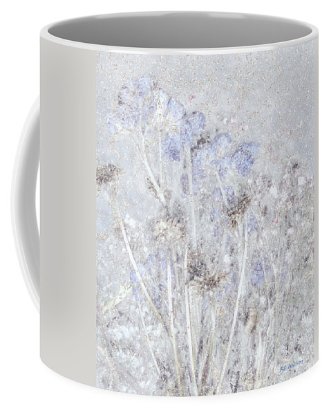 Field Coffee Mug featuring the painting First Snow In The Field by RC DeWinter