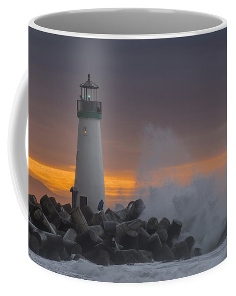 Sunrise Coffee Mug featuring the photograph First Sunday Morning by Bruce Frye