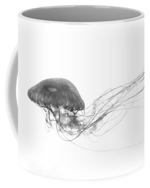 Jellyfish Coffee Mug featuring the photograph Fish 24 by Ben Yassa