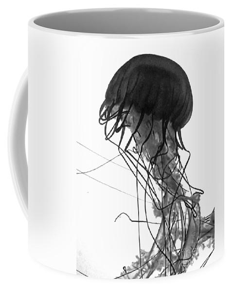 Jellyfish Coffee Mug featuring the photograph Fish 26 by Ben Yassa