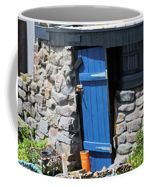 Priest Cove Coffee Mug featuring the photograph Fisherman's Hut Priest's Cove Cape Cornwall by Terri Waters