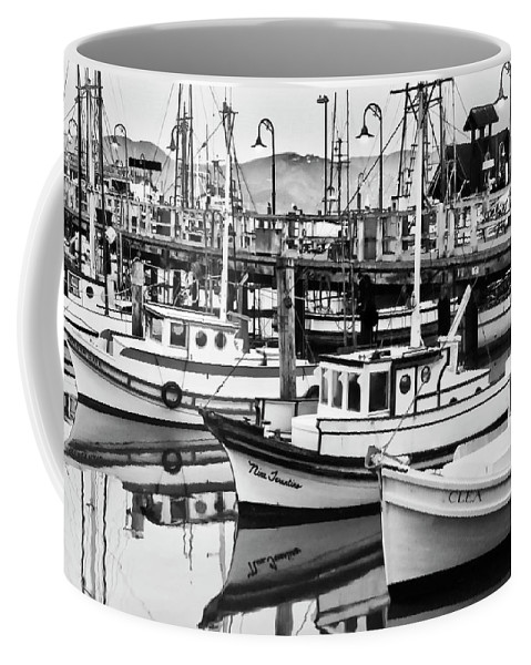 Fishermans Wharf Coffee Mug featuring the photograph Fishermans Wharf by Mick Burkey