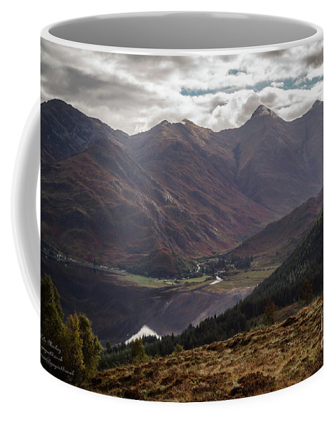 Landscapes Coffee Mug featuring the photograph Five Sisters Of Kintail by Gaspix15