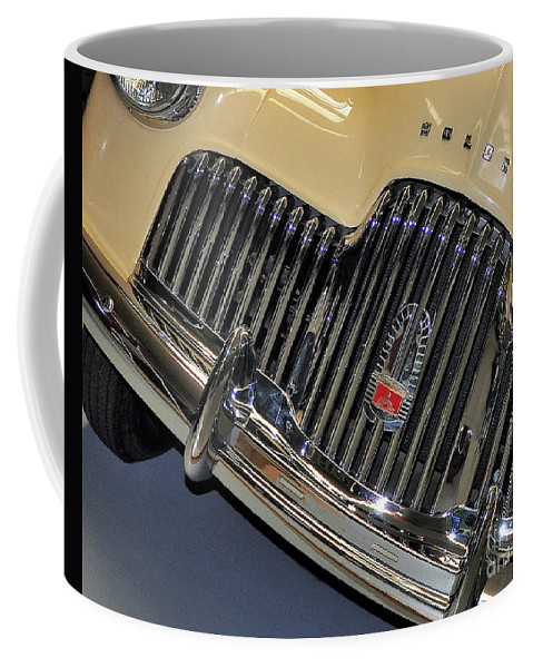 Photography Coffee Mug featuring the photograph Fj Holden - Front End - Grill by Kaye Menner