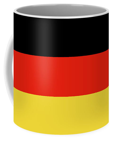 Germany Coffee Mug featuring the digital art Flag Of Germany by Roy Pedersen