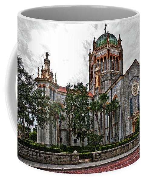 Church Coffee Mug featuring the photograph Flagler Memorial Presbyterian Church 2 by Christopher Holmes