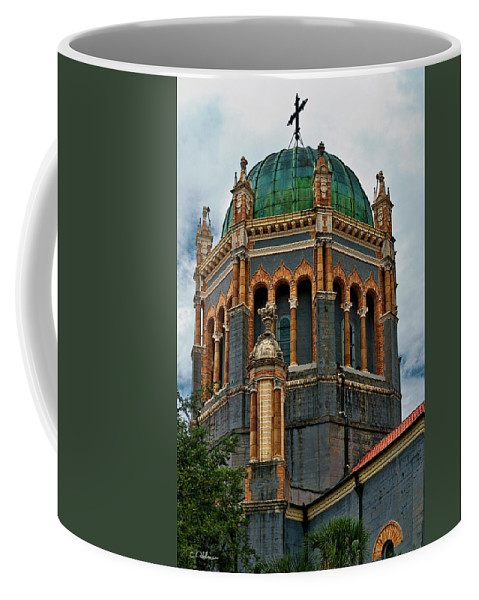 Church Coffee Mug featuring the photograph Flagler Memorial Presbyterian Church 3 by Christopher Holmes