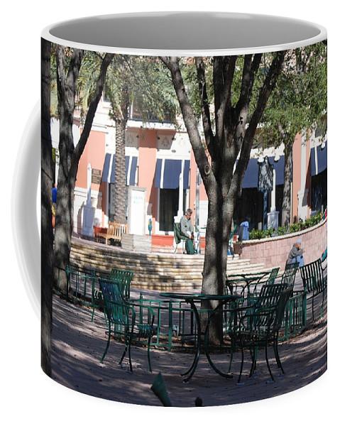 Park Coffee Mug featuring the photograph Flagler Park by Rob Hans