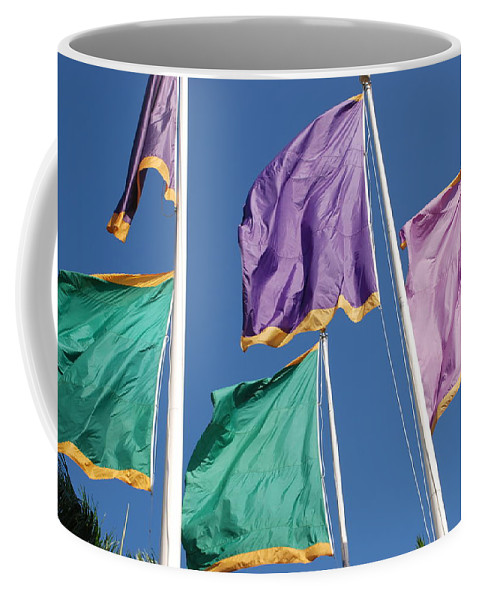 Flags Coffee Mug featuring the photograph Flags by Rob Hans