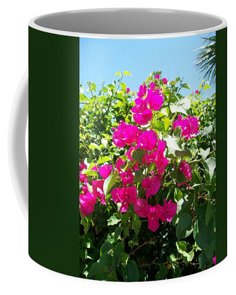 Botanical Coffee Mug featuring the photograph Flamante by Laurette Escobar