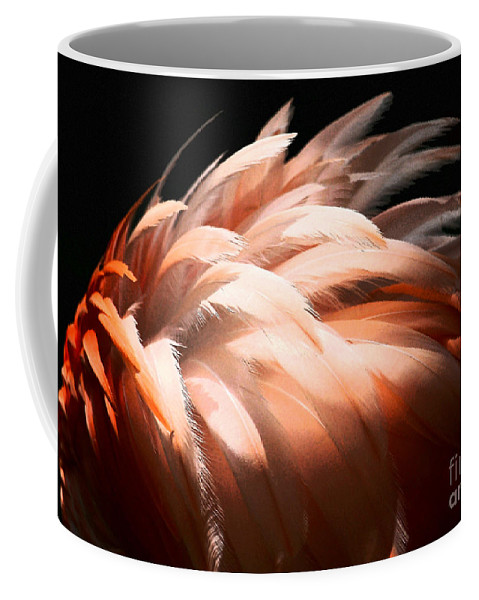 Feathers Coffee Mug featuring the photograph Flamingo Feathers by Sabrina L Ryan