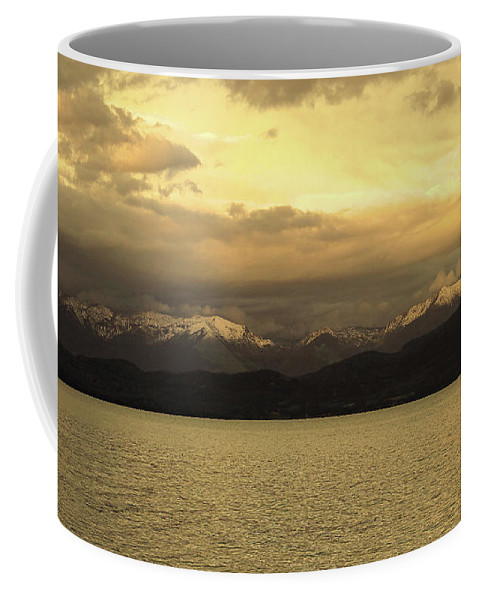 Lake Coffee Mug featuring the photograph Flathead Lake Montana by David Ross