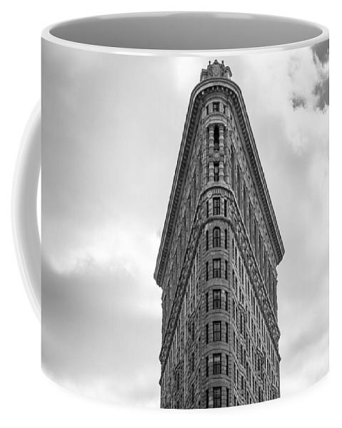 Nyc Coffee Mug featuring the photograph Flatiron Skies by Robert J Caputo