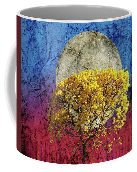 Flavo Luna In Ligno Coffee Mug featuring the photograph Flavo Luna In Ligno by Michael Naegele