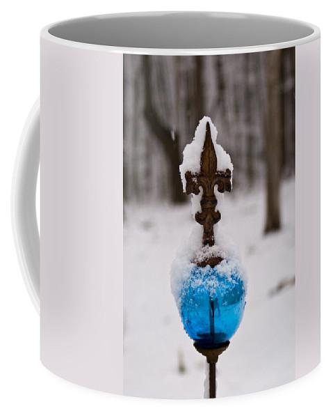Feurs De France Coffee Mug featuring the photograph Fleurs De France Crystal Scepter by Douglas Barnett