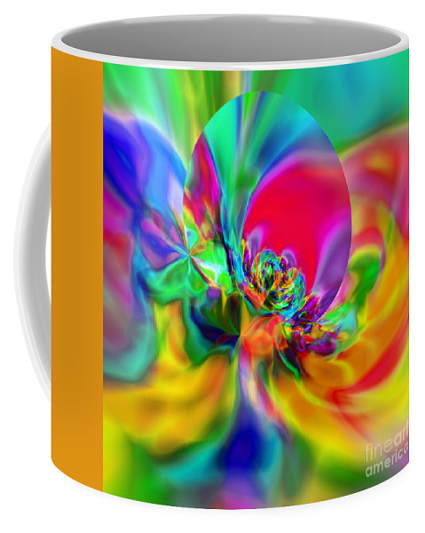 Zen Coffee Mug featuring the digital art Flexibility 20ca by Rolf Bertram