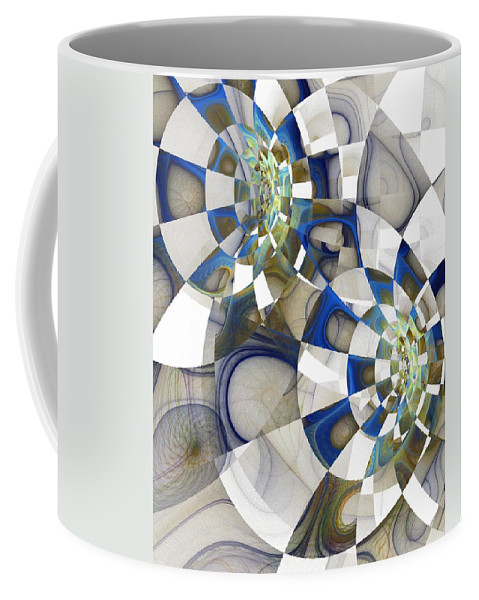 Digital Art Coffee Mug featuring the digital art Flight by Amanda Moore