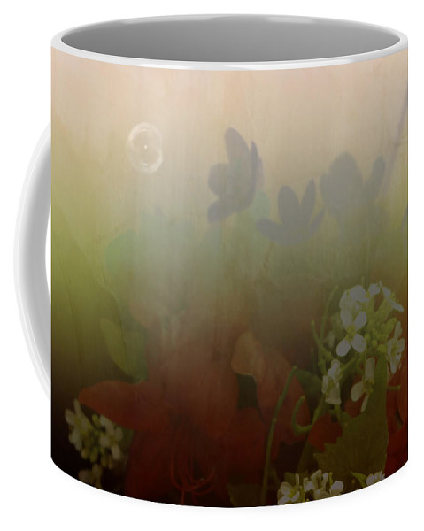 Bubble Coffee Mug featuring the photograph Floating Bubble by Scott Wyatt