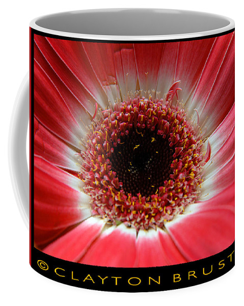 Clay Coffee Mug featuring the photograph Floral by Clayton Bruster