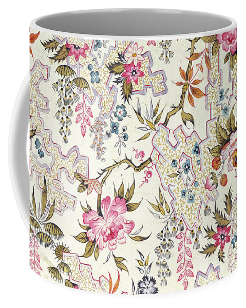 William Kilburn Coffee Mug featuring the drawing Floral Design by William Kilburn