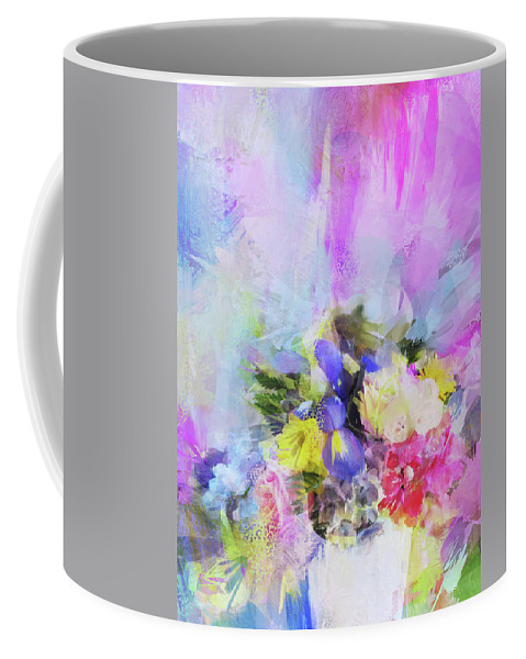 Flowers Coffee Mug featuring the photograph Floral Fantasy by Carla Parris