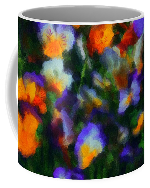 Digital Photography Coffee Mug featuring the photograph Floral Study 053010a by David Lane