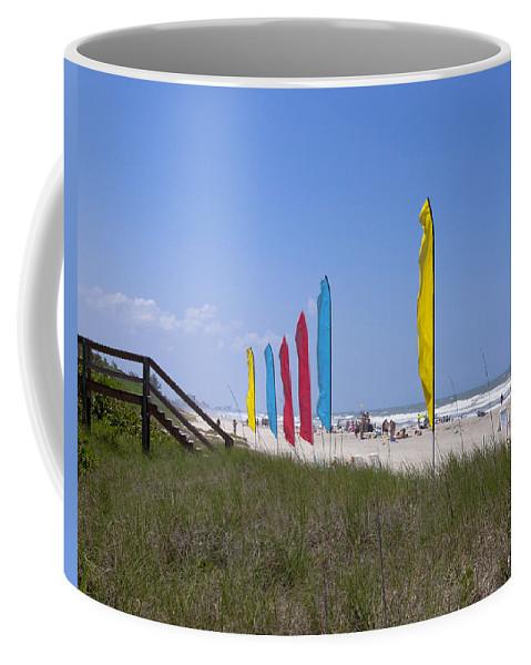 Florida Coffee Mug featuring the photograph Florida Beach On The Atlantic by Allan Hughes