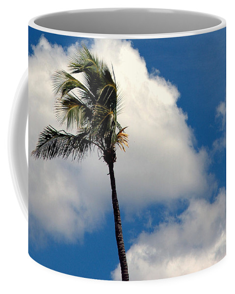 Photography Coffee Mug featuring the photograph Florida Clouds by Susanne Van Hulst