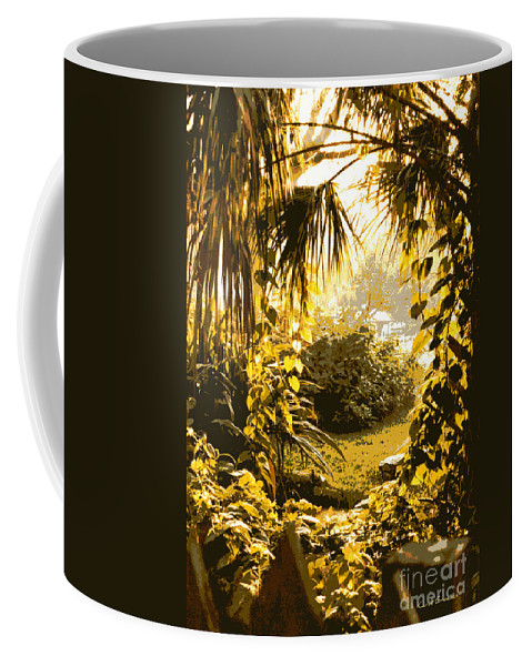Sunlight Coffee Mug featuring the photograph Florida Dream by Carol Groenen