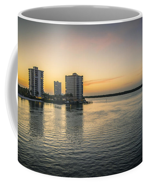 Florida Living Coffee Mug featuring the photograph Florida Living by Michael Frizzell