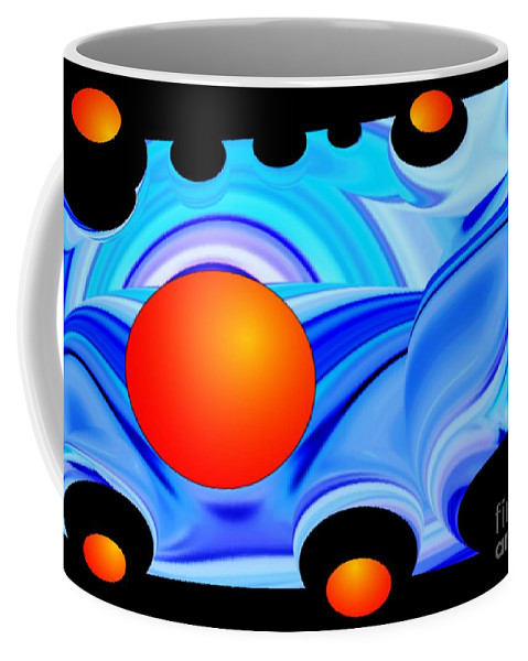 Colorful Coffee Mug featuring the photograph Florida Oranges by Dale Crum