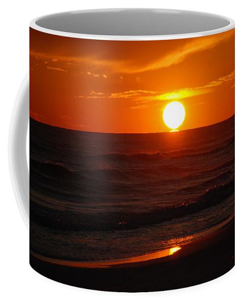 Sunset Coffee Mug featuring the photograph Florida Sunset by Susanne Van Hulst