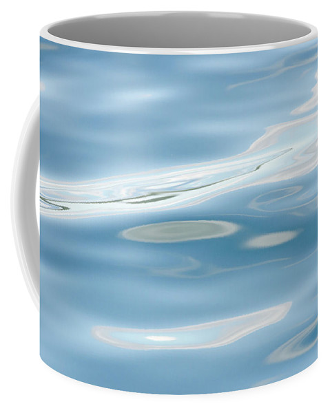 Water Coffee Mug featuring the photograph Flow 5 by Sandra Parlow