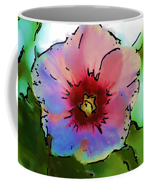 Landscape Coffee Mug featuring the photograph Flower 8-15-09 by David Lane