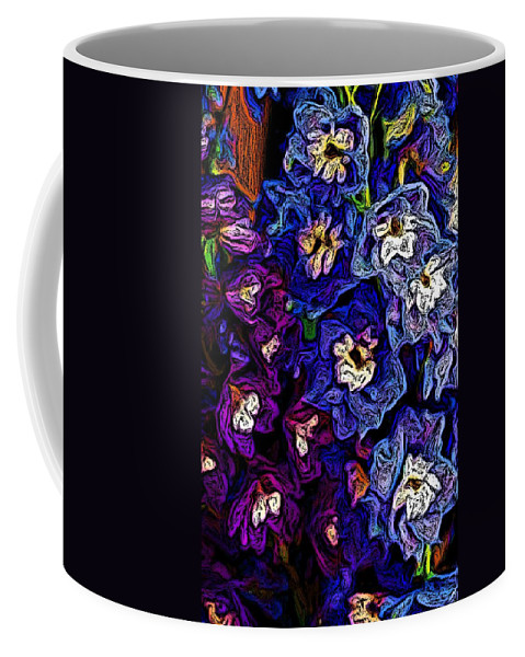 Digital Photo Coffee Mug featuring the photograph Flower Arrangement II by David Lane