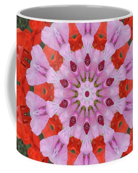 Flower Burst Coffee Mug featuring the photograph Flower Burst by Wanda-Lynn Searles