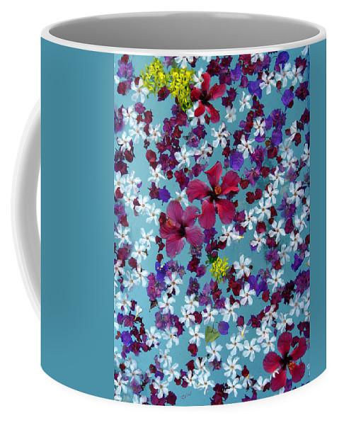 Flowers Coffee Mug featuring the photograph Flower Fantasy Guatemala by Kurt Van Wagner