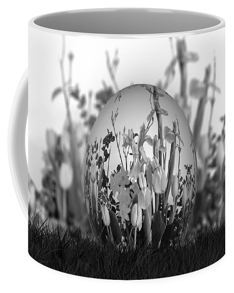 Flowers Coffee Mug featuring the photograph Flower Garden For Coloring by Ericamaxine Price