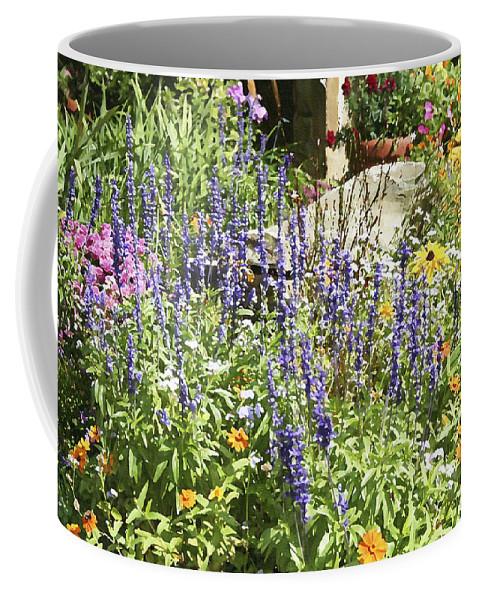 Flower Coffee Mug featuring the photograph Flower Garden by Margie Wildblood