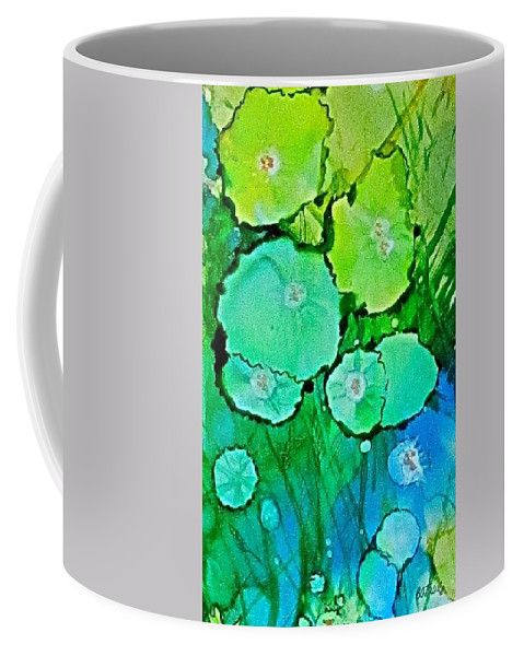 Flowers Coffee Mug featuring the painting Flowers 2 by Barbara O'Toole