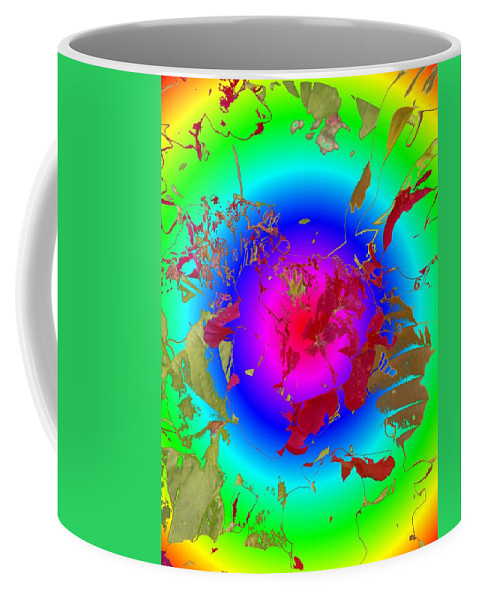 Flowers Coffee Mug featuring the photograph Flowers Flux by Tim Allen