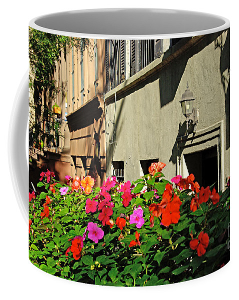 Flowers Coffee Mug featuring the photograph Upper West Side, New York by Zalman Latzkovich