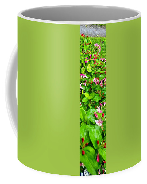 Uther Coffee Mug featuring the photograph Flowery Flope by Uther Pendraggin