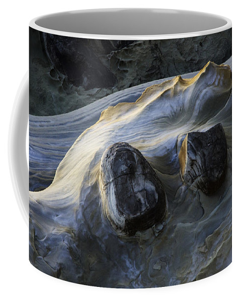 Rock Coffee Mug featuring the photograph Flowing Rock 2 by Bob Christopher