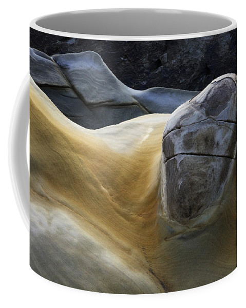 Rock Coffee Mug featuring the photograph Flowing Rock 3 by Bob Christopher