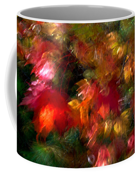 Canada Coffee Mug featuring the photograph Flury by Doug Gibbons