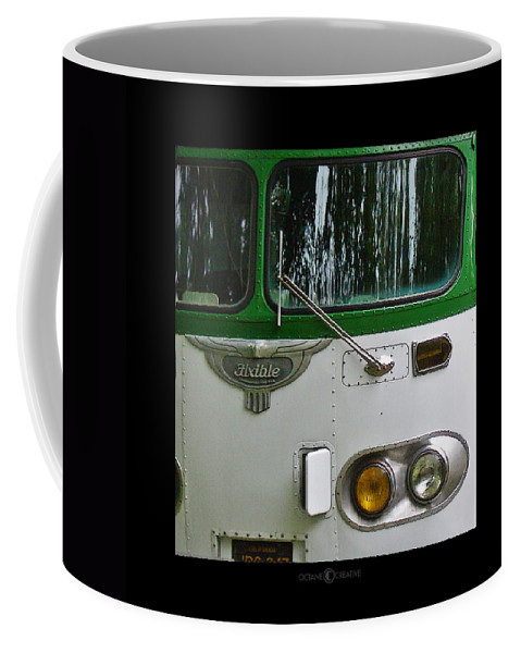 Flxible Coffee Mug featuring the photograph Flxible by Tim Nyberg