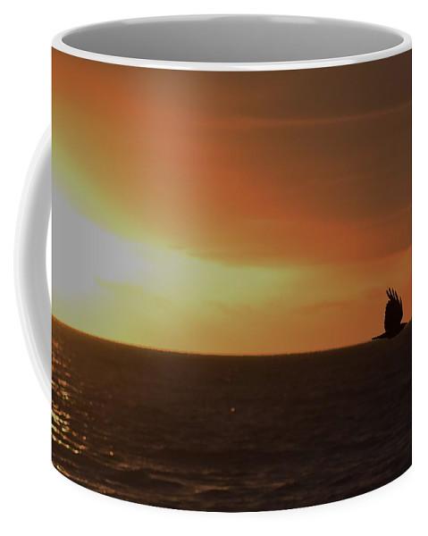 Bird Coffee Mug featuring the photograph Fly Away by Rana Agaoglu