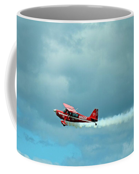 Plane Coffee Mug featuring the photograph Flying High 2 by Jimmie Blacker