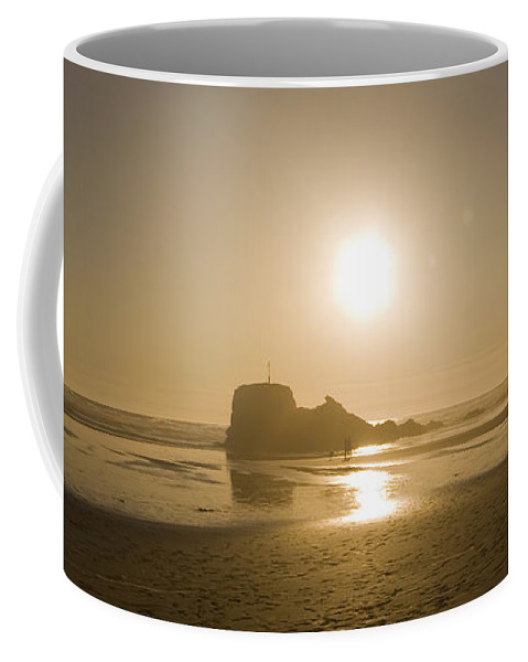 Paraglider Coffee Mug featuring the photograph Flying In The Sunshine by Angel Tarantella